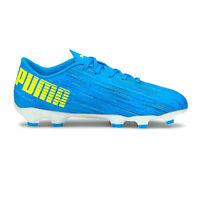 Puma Ultra 4.2 FG/AG Firm Ground Junior Kids Football Boot Shoe Blue