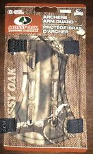 Mossy Oak Archers Arm Guard - Adjustable Clasps/Hunting Accessories. NEW 2 PACK