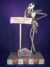 Disney Traditions by Jim Shore Jack Skellington Stone Resin Figurine, 8""