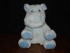 RUSS HIPPO SOFT TOY BLUE HIPPOPOTAMUS COMFORTER NOAHS FRIENDS BABY DOUDOU