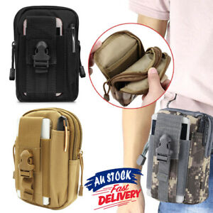 Tactical Waist Bag Molle Pack Pouch Military Wallet Multi Purpose Belt Utility