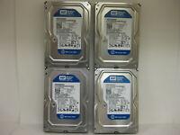 """4X   WD Caviar Blue WD2500AAKX 250GB 3.5""""SATA II Desktop Hard Drive"""