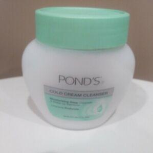 1 ~ Ponds COLD CREAM Make-Up Remover Cleanser Moisturizing Deep 9.5 oz