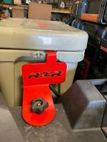 RZR Cooler Bracket for YETI 20qt Powder Coated Black