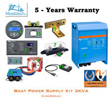VICTRON Multiplus 3KVA - 12V BOAT MARINE POWER SUPPLY KIT FREE Delivery