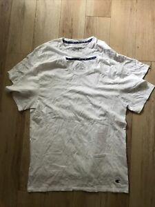 Champion White Tee Shirt Pack of 2 Size XL Unboxed New
