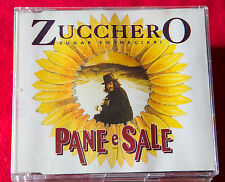 ZUCCHERO SUGAR FORNACIAI PANE E SALE CD SINGOLO Promo 1 brano Blues rock