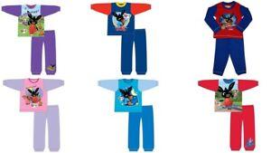 Boy Girls Kids Bing Pyjamas Nightwear PJ's Long Sleeve 12 months to 5 Years