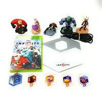 Disney Infinity Lot Bundle Xbox 360 w/ Game Portal Star Wars Figure Discs!!!