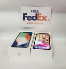 Apple iPhone X - 256GB - Silver GSM (Unlocked) - 8/10 Conditon