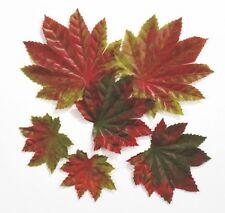 """Dekostreu """"Herbstblätter"""" - 6 Stück/Paket - Herbstdekoration - Kunstlaub"""