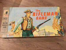 The Rifleman Board Game 1959 Milton Bradley Vintage Complete