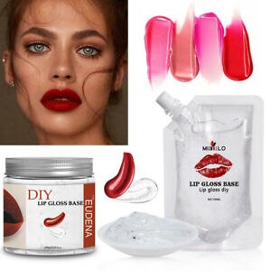 200ml Clear Lip Gloss Base Oil Non-Stick DIY Lipstick Raw Material Gel Lip Gloss