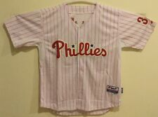 NWT Majestic Philadelphia Phillies Roy Haladay Jersey, pink, size 54