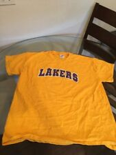 Los Angeles Lakers Yellow T-Shirt XL Good Condition