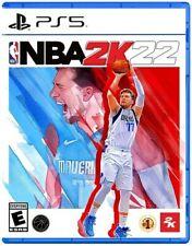 NBA 2K22 PS5 PLAYSTATION 5 Brand New Sealed