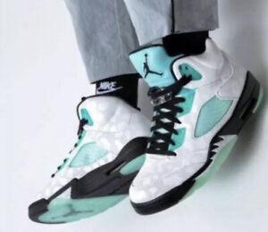 Rare New Nike Air Jordan 5 V Retro Island Green White Men's Size 11 CN2932 100