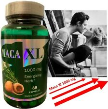 Maca Root Extract XL 1000 mg 60Caps Sexual Male Enhancement Libido Stamina