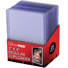 Protège Carte Rigide - Ultra PRO TopLoader Clear Regular (X25) - Yu-Gi-Oh/Magic
