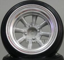 Yokomo 1/10 RC Car WHEELS Rims RS WATANABE 8 SPOKE  12MM Offset TW-2713S (2PCS)