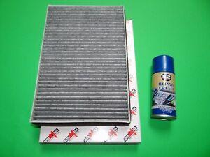Aktivkohle Pollenfilter / Innenraumfilter + Klimareiniger Opel Astra H