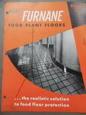 1952 Furnane Food Plant Flooring Architectural Catalog Atlas Mineral Products Co