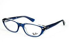Ray-Ban Damen Brillenfassung  RB 5242 5111  51mm transparent blau 418 T2