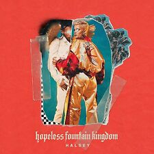 Halsey HOPELESS FOUNTAIN KINGDOM +MP3s LIMITED New Red + Yellow Colored Vinyl LP