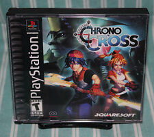 Chrono Cross PS1 COMPLETE CIB Black Label Squaresoft Sony Playstation