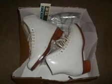 New listing Riedell Gold Star 375 Skates Leather 5 A Womens In Box New