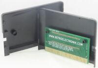 Contacts or SEGA Megadrive cartouche de jeu PCB + Boitier Euro US