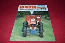 Kubota M8030 M7030 M6030 M5030 M4030 Tractor Dealers Brochure YABE11