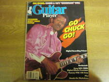 March 1988, GUITAR PLAYER, Chuck Berry, Ry Cooder, Emory Gordy Jr, Rory Stuart.