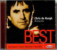 ZOUNDS - CHRIS DE BURGH - Missing You - Best - rare audiophile CD 2007