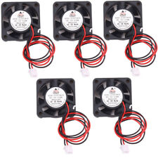 5pcs 12V Cooling Computer Fan 40mm x40mm x10mm DC Brushless 2-pin 4010S