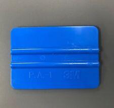 "3M 4"" Blue Squeegee - Hard Card Car Window Film Tinting Fitting Tool"