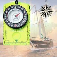 NEU Magnetic Compass with Portable Map Multi-function B Travel Compass D9I5