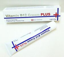 Swissbel Vitamin B12 Moisturizer Cream Plus+ for Face & Neck 50ml 1.69 fl oz