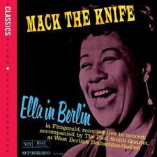 ELLA FITZGERALD ELLA IN BERLIN MACK THE KNIFE LIVE CD JAZZ NEW