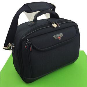 Antler Vintage Shoulder Bag Travel Carry Cabin Hand Holdall Blue Overnight Adju