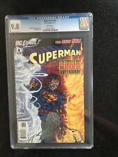 SUPERMAN # 4 / The new 52! / CGC UNIVERSAL 9.8 / February 2012 / DC COMICS