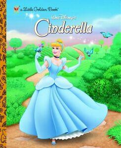 Walt Disneys Cinderella (a Little Golden Book) by RH Disney