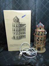 """House - Dept '56 in box, Christmas in the Village, """"The Tower Restaurant"""""""