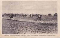uralte AK, Deutsche Maschinengewehr-Abteilung in Feuerstellung Feldpost 1916