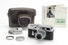 Leitz Leica M3 Chrome Double Stroke w. 2.8/5cm Elmar & Case