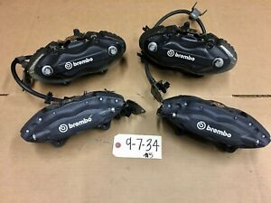 2015 - 2019 Dodge Challenger / Charger Front & Rear 4 Piston Brembo Calipers OE