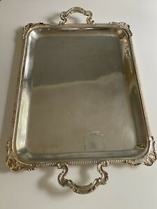 Camusso Plata Peruana Sterling Silver 925 Vintage Tray 2.2 Kg