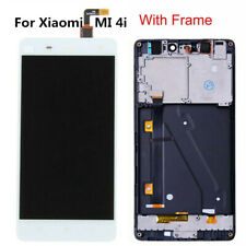 For Xiaomi Mi 4i LCD Display Touch Screen Digitizer Assembly Frame White RHNUS