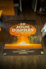 THE DAY AFTER 4x6 ft Vintage French Grande Movie Poster Original 1983