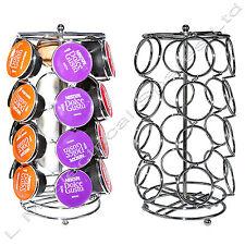 24 retro 6 faces café capsule pod rotatif titulaire rack support pour dolce gusto